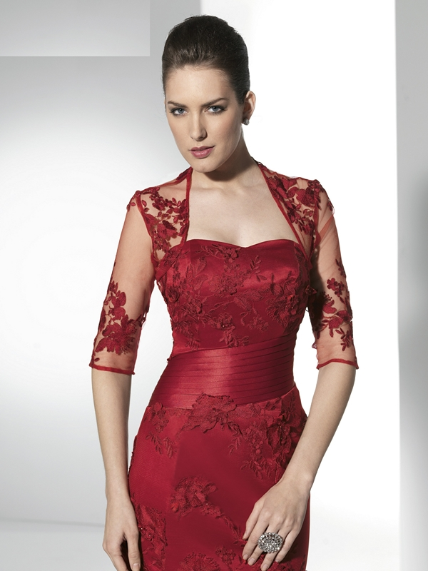Fiesta De Yg7f6ybiv Bolero Rojo Vestido Para 1ftl3ucjk rdoeCxBW