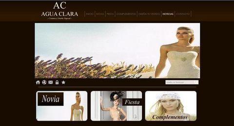 Agua Clara Novias - Estrenamos página web - Agua Clara Novias